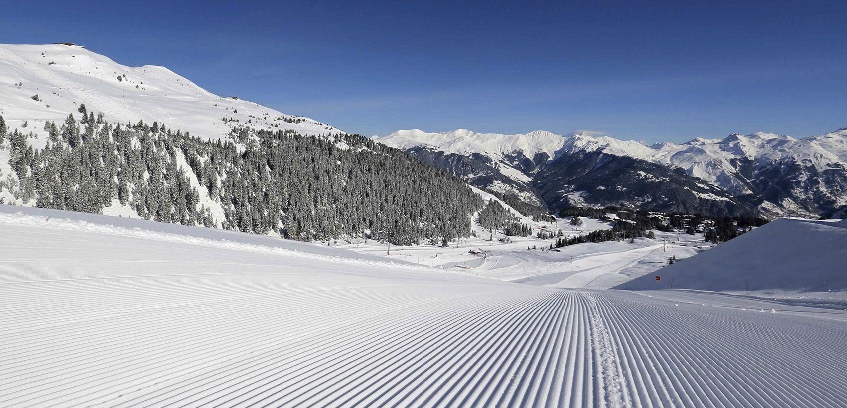 Neve: Alpes Franceses - Les 3 Valées