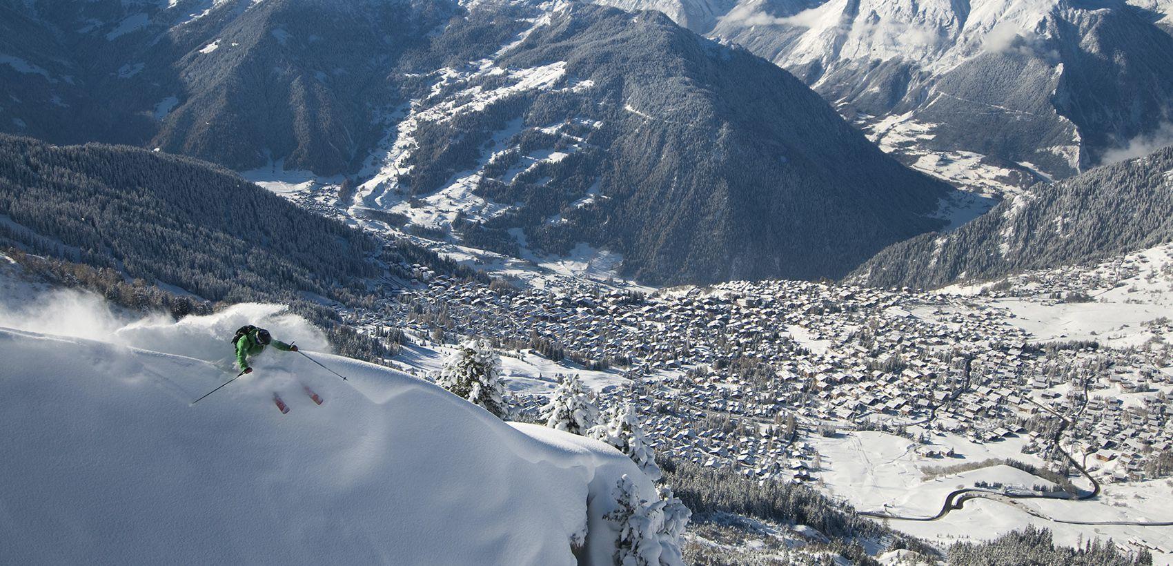 Neve: Alpes Suíços - Les 4 Vallées