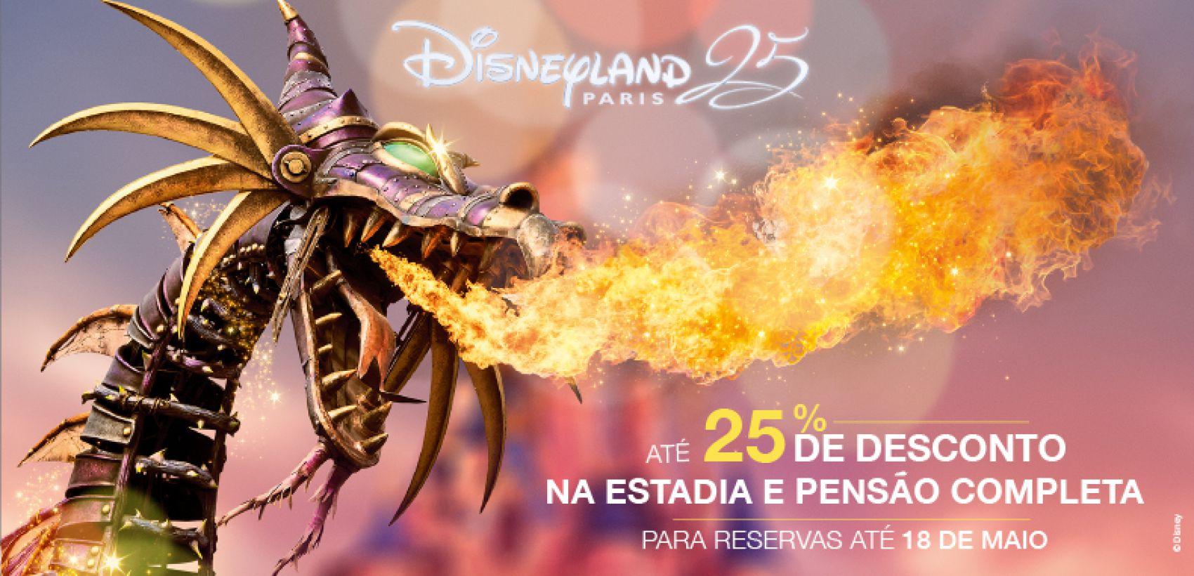 Disneyland® Paris: Verão Mágico -15% | Programa C/ Avião