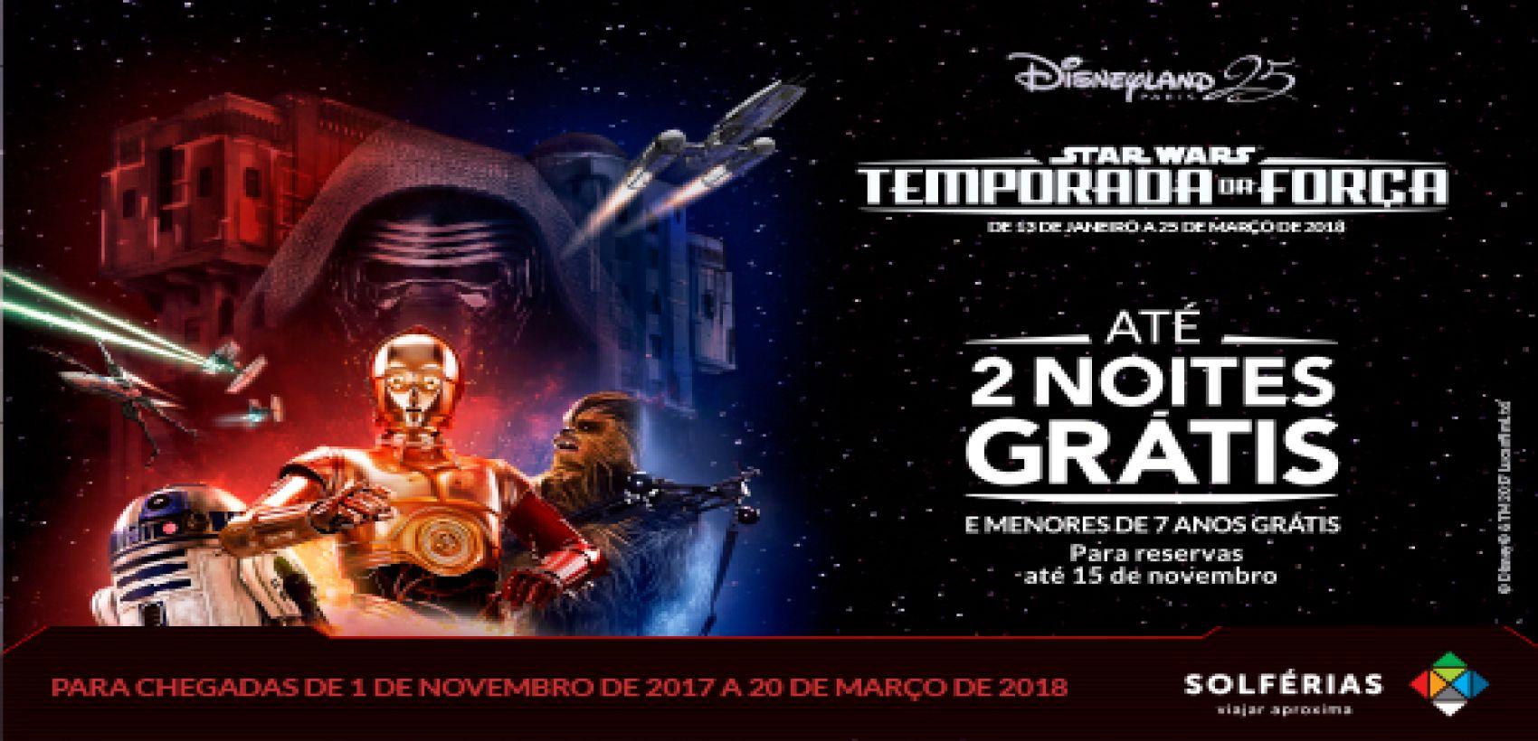 Disneyland® Paris | Temporada da Força: C/ Avião | 3=2
