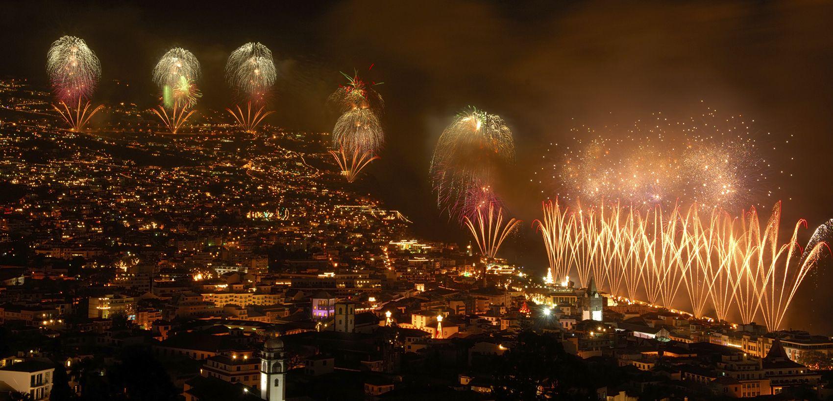 Lisboa » Funchal: RÉVEILLON | VOO ESPECIAL | TAP | 4Noites