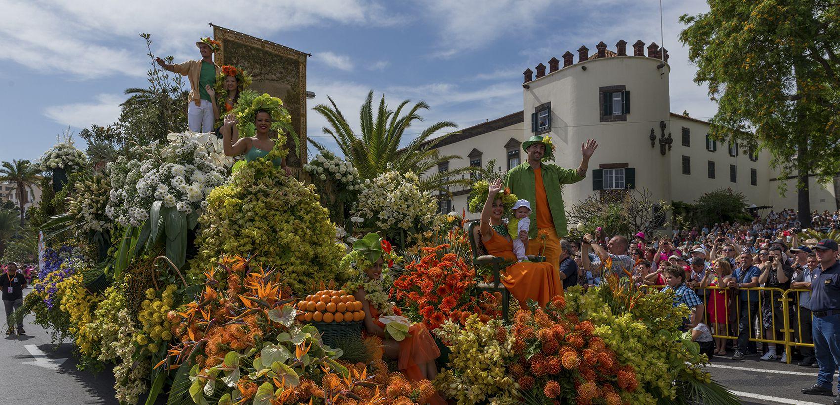 Lisboa/Porto » Funchal: Especial Festa da Flor