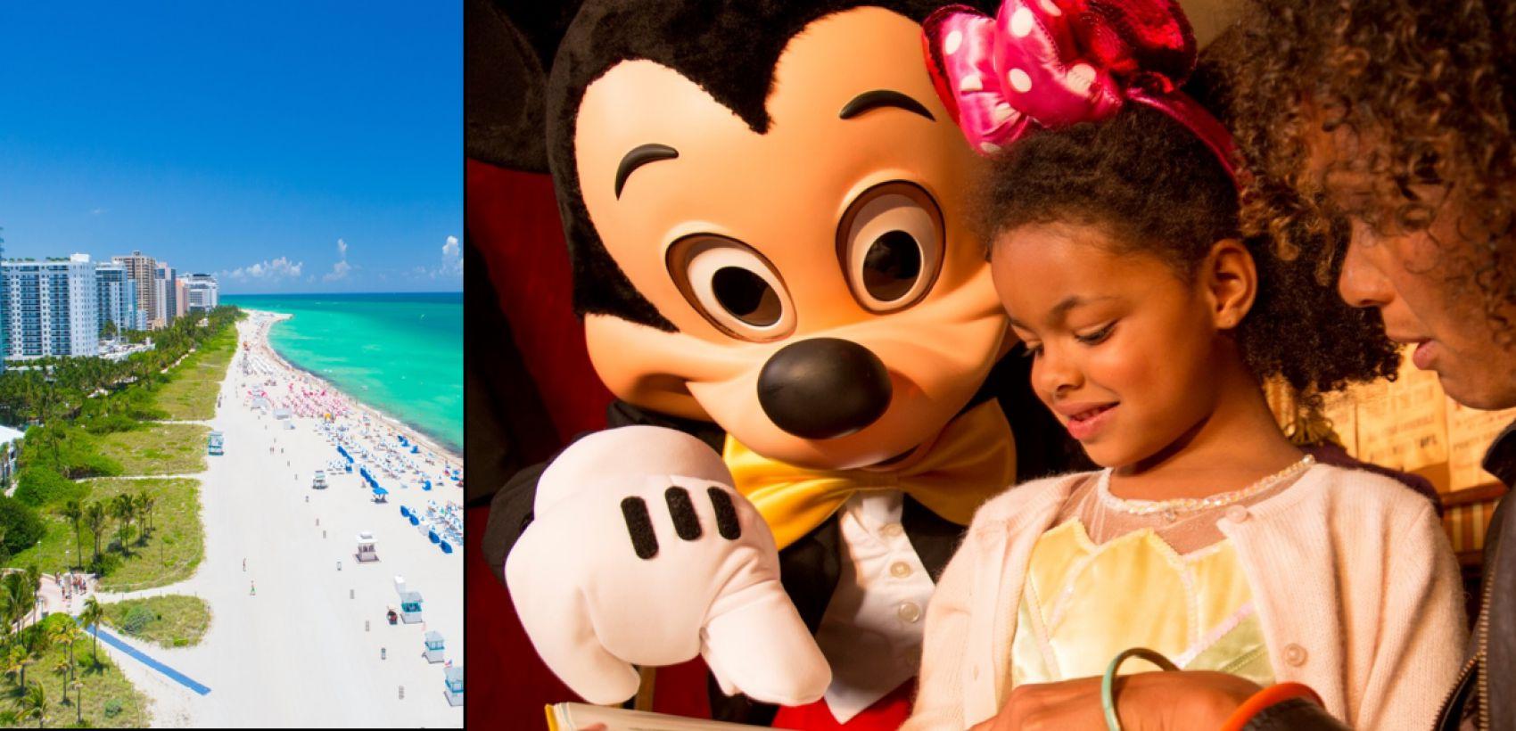 Lisboa » Miami + Disneyland®Orlando