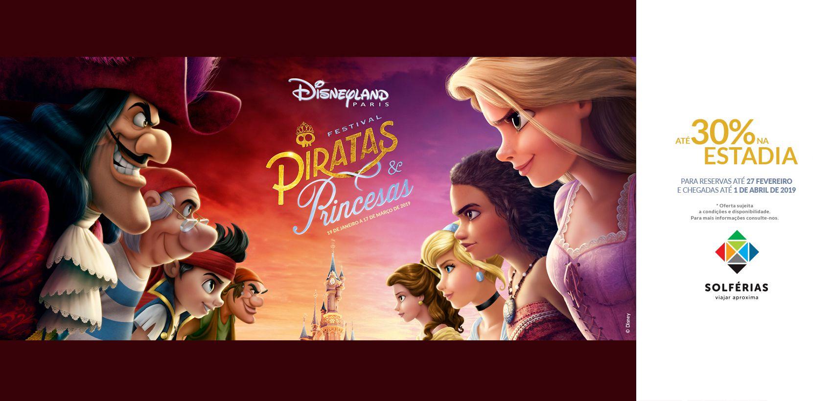 Disneyland®Paris: Programa c/ Avião (Allot TAP)