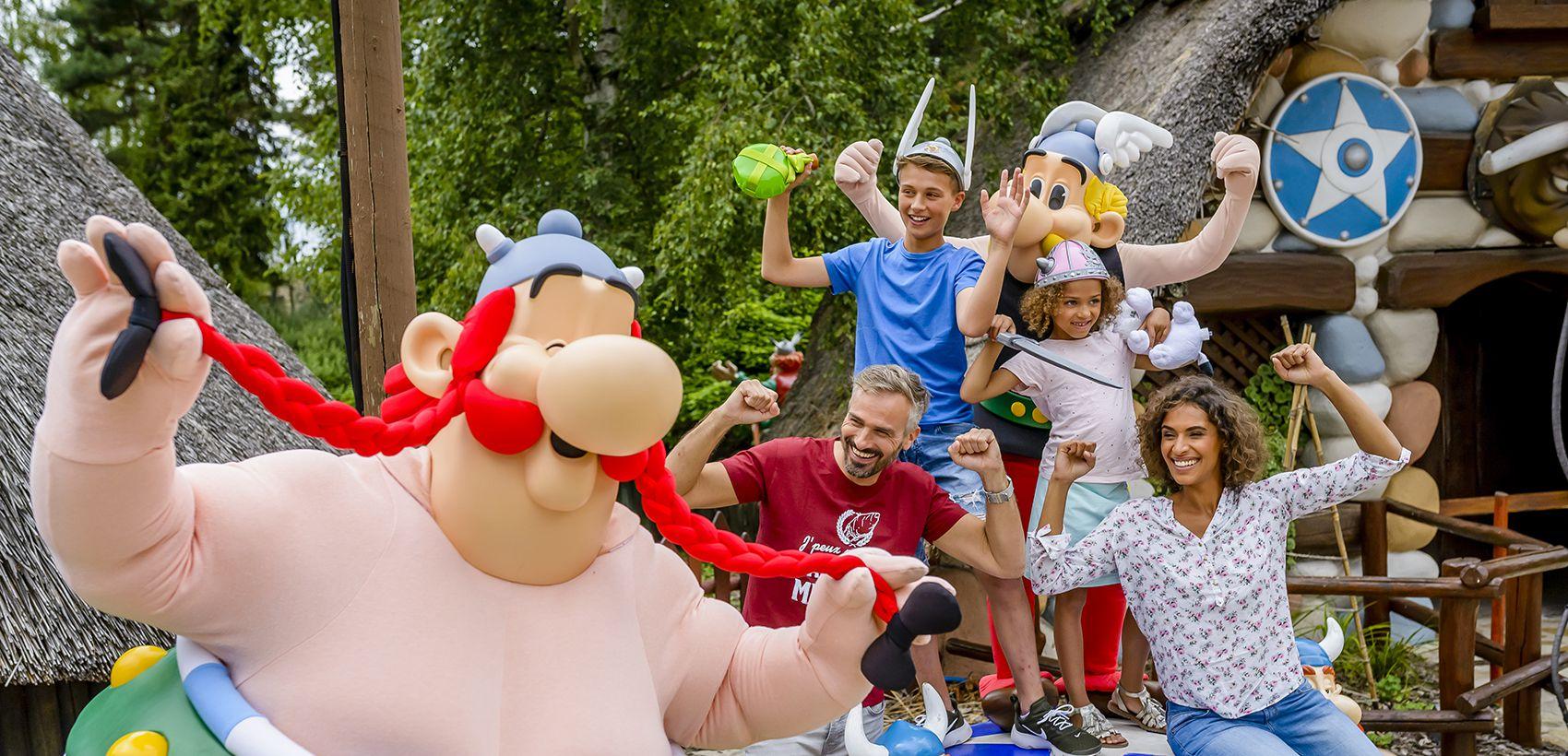Parc Asterix: Avião + Transferes + Alojamento + Entradas