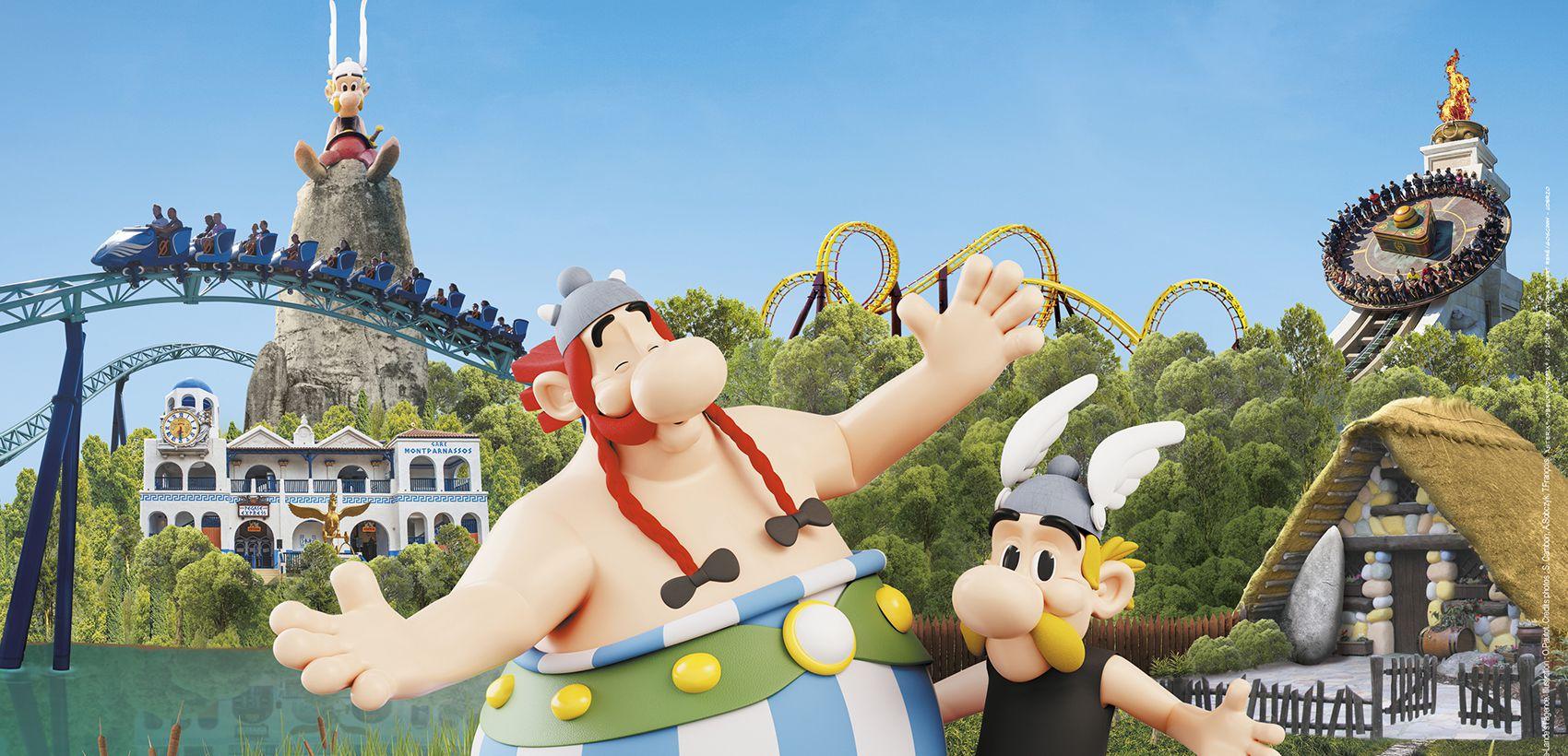 Parc Asterix: Alojamento + Entradas