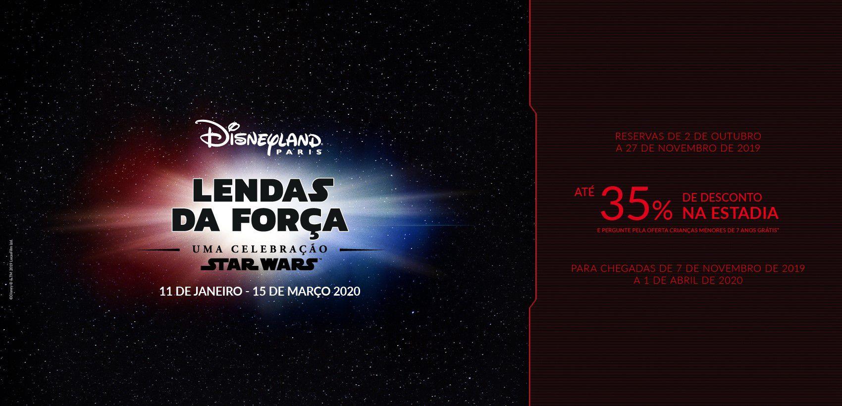 Disneyland®Paris: Alojamento+Entradas  (03.10.19 a 01.04.20)