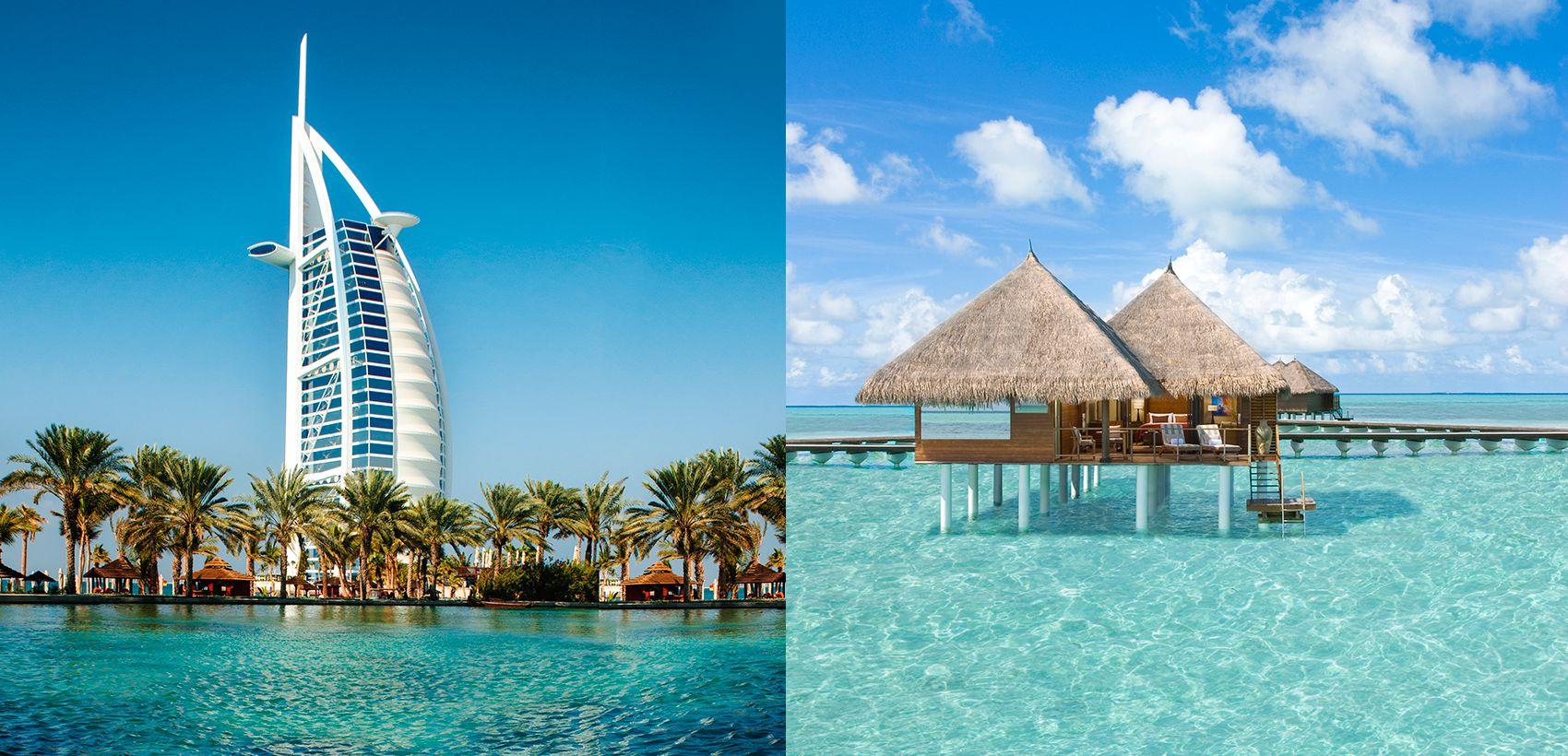 Dubai (1 Excursão) & Maldivas