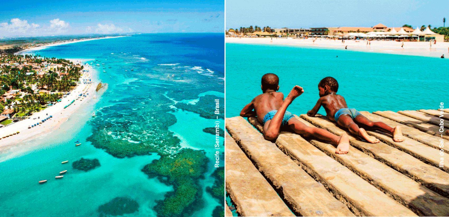 Combinado Recife + Sal | Especial Cabo Verde Airlines