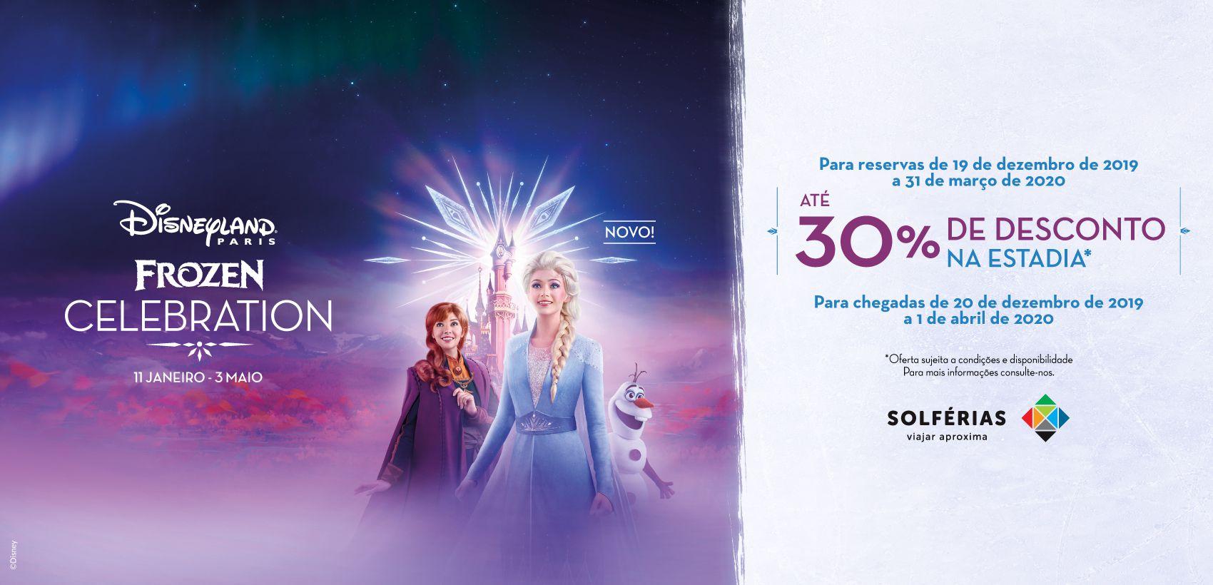 Disneyland®Paris: Alojamento+Entradas (20.12.19 a 01.04.20)