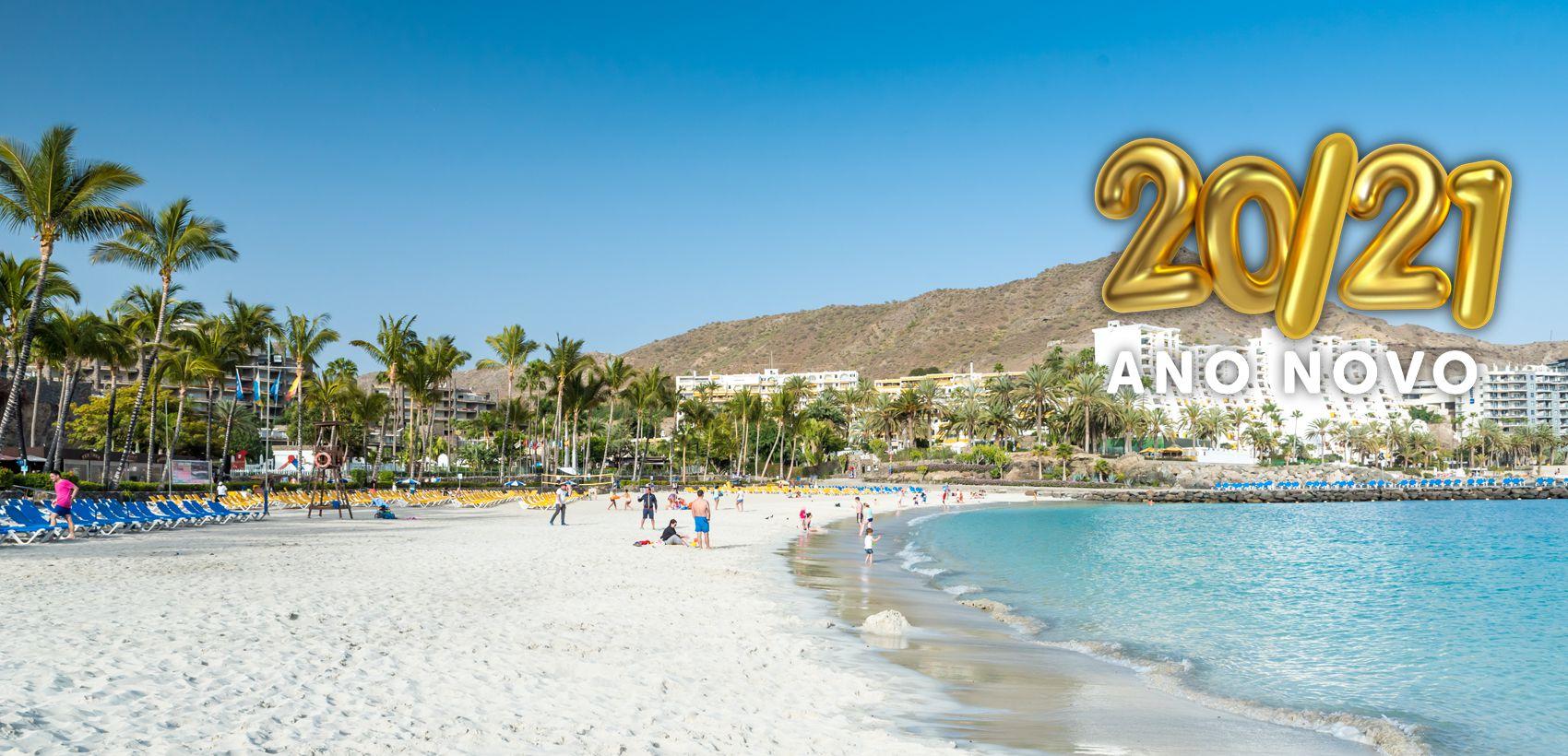 Praias de Gran Canaria   Fim de Ano