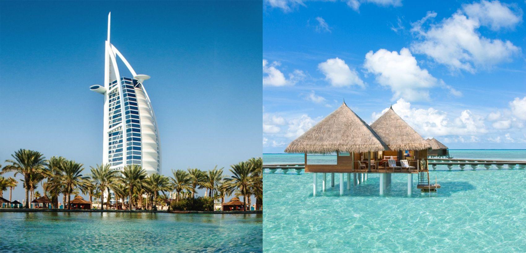 Dubai & Maldivas