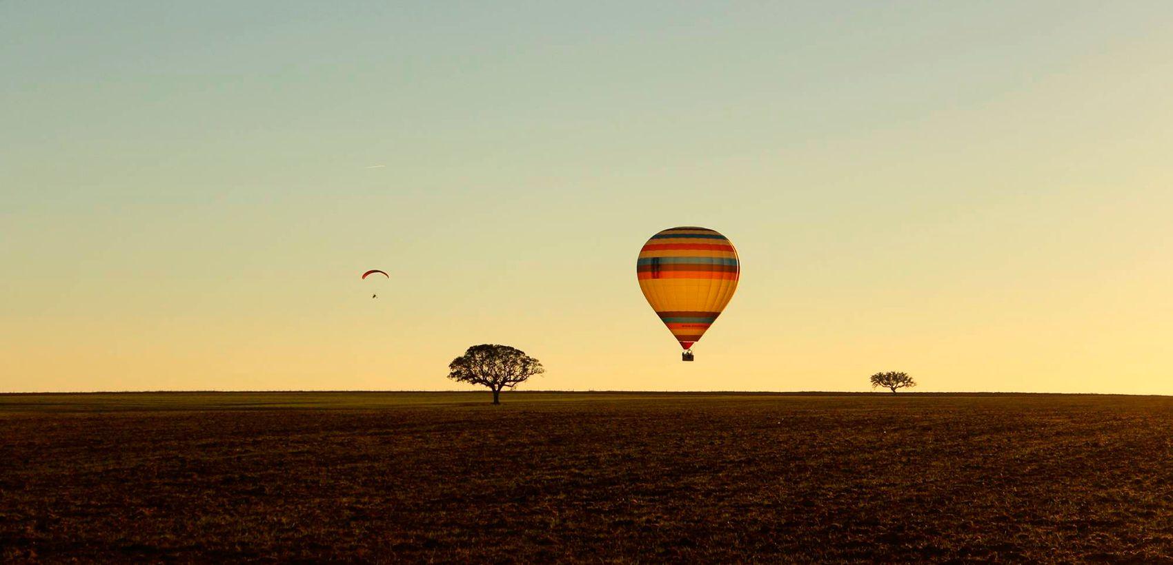 Horta da Coutada: Passeio de Balão de Ar Quente