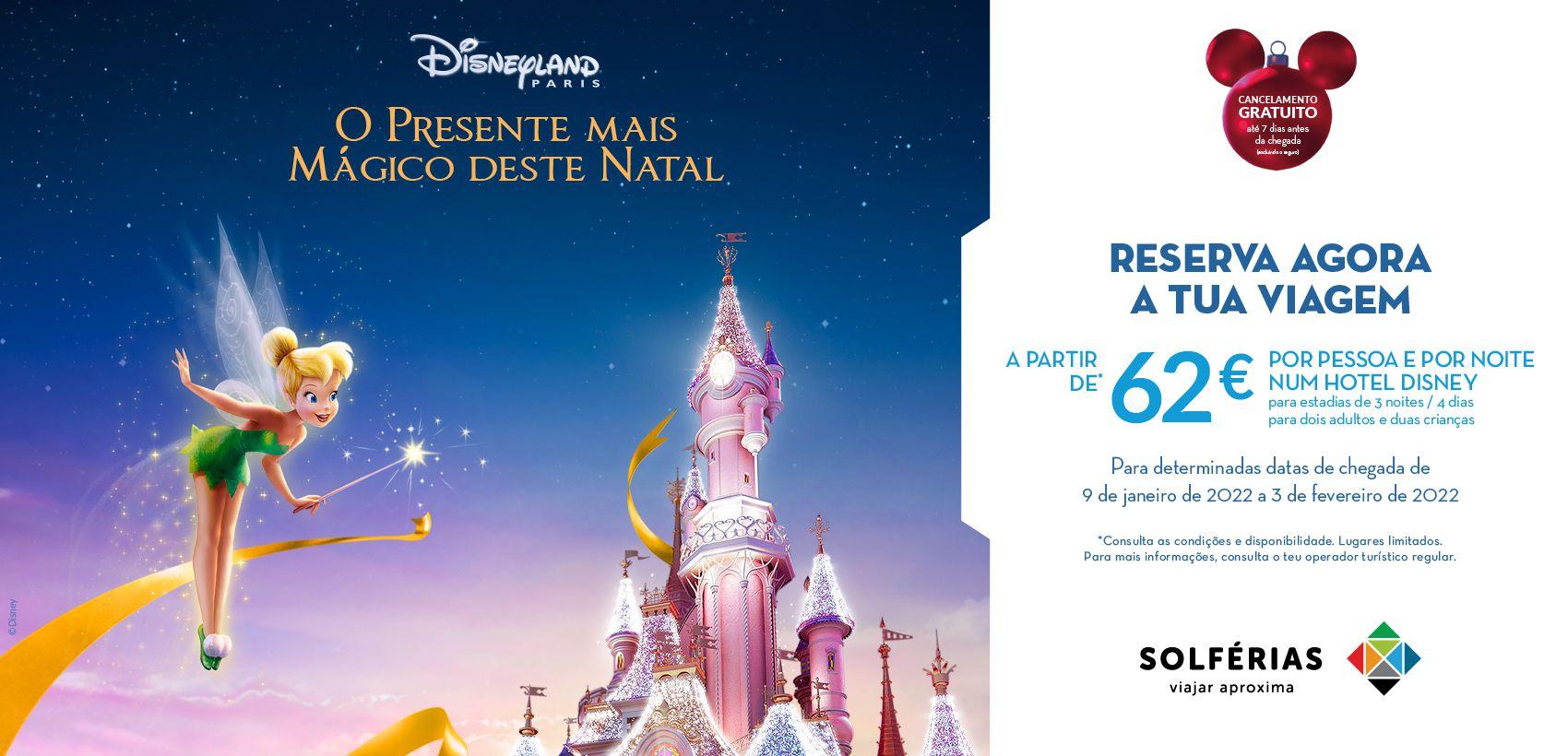 Disneyland®Paris: Alojamento +  Entradas